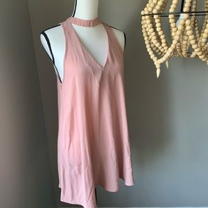 Forever 21 | sheer pink tunic
